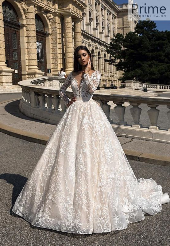 7b27425badfe Svadobný salón PRIME Bratislava - unikátne svadobné šaty